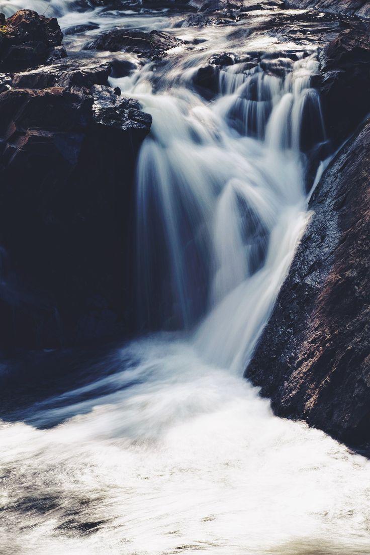 Mine Falls - Waterfall at Mine Falls in Nashua, New Hampshire