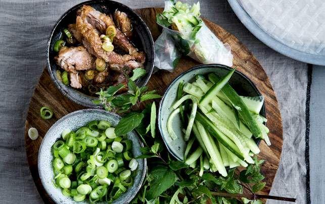 Peking-and med agurk, forårsløg og mynte | Alt for damerne