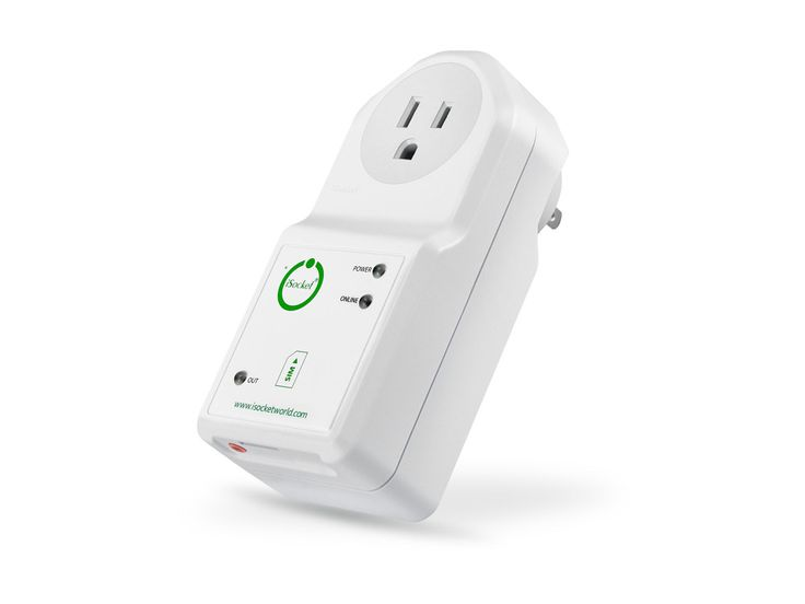 iSocket 3G: power outage and temperature monitoring device