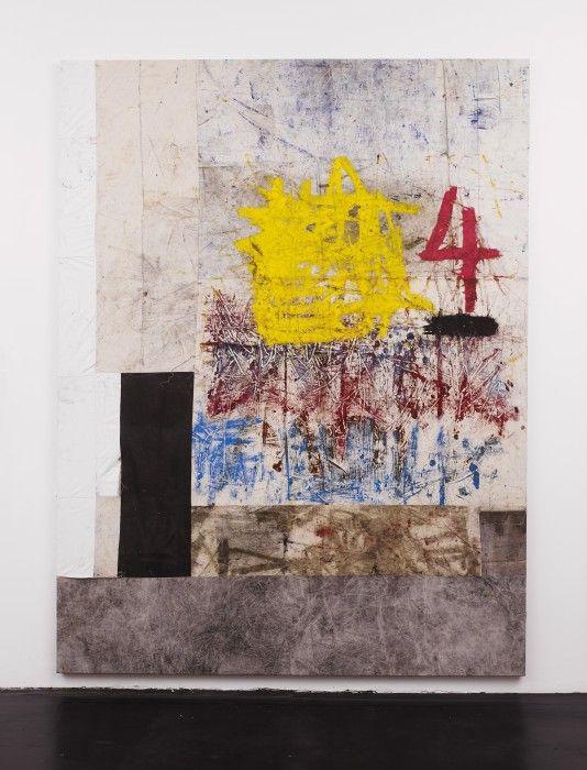 Oscar murillo at isabella bortolozzi contemporary art daily