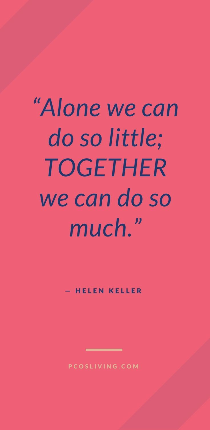 Together We Can Do So Much Unity Quotes Women Empowerment