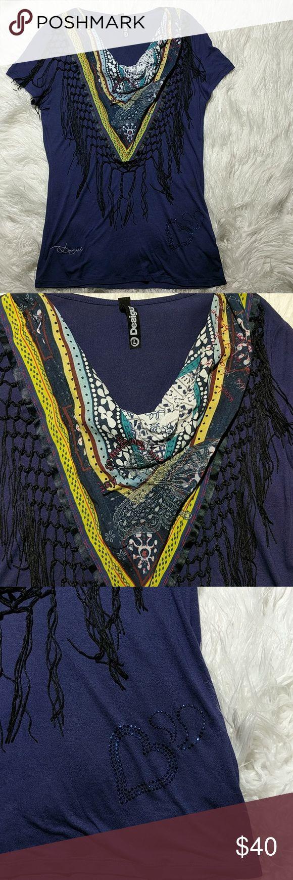Spotted while shopping on Poshmark: Desigual Top sz Lg! #poshmark #fashion #shopping #style #Desigual #Tops