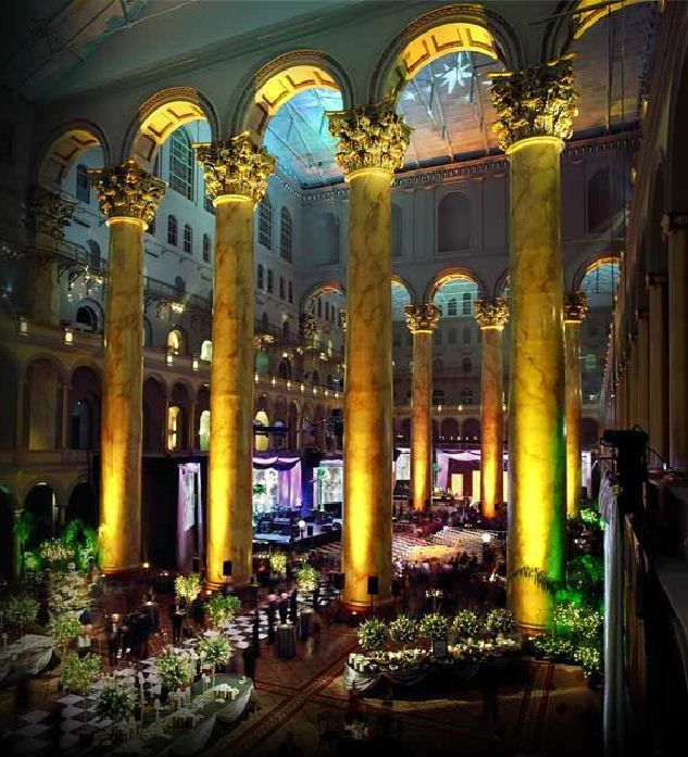 Wow: The National Building Museum, Washington DC