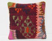 kilim pillow southwestern tribal decor tapestry throw pillow seat pillow urban throw pillow contemporary pillow boho chic throw pillow 26594