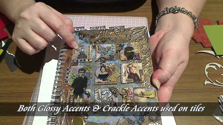 Steampunk inspired journal cover: PART 2 Kates Copic Journal