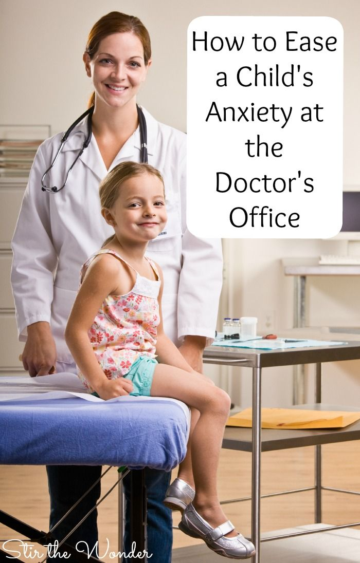 Visiting the doctor can be stressful for both kids and parents. Here are 10 tips that will help ease a child's anxiety at the doctor's office.