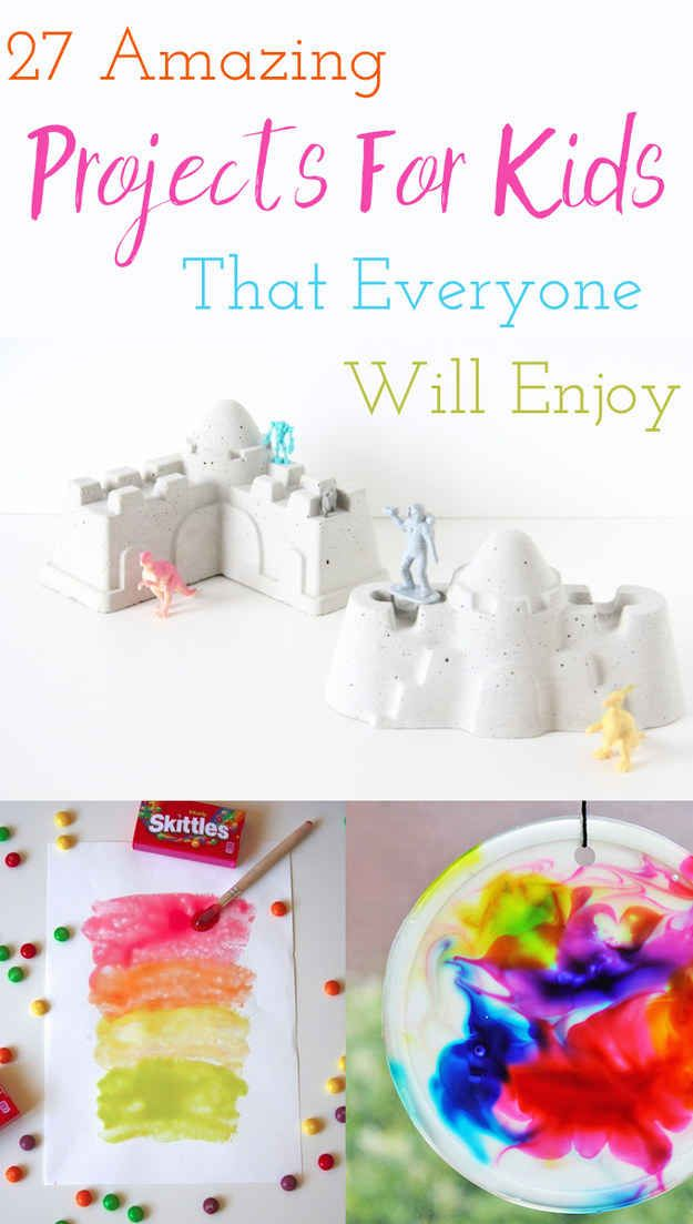 27 Ridiculously Cool Projects For Kids That Adults Will Want To Try