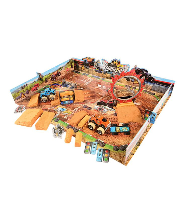 Look what I found on #zulily! Monster Truck Scenes Stadium by U.S. Toy Company #zulilyfinds