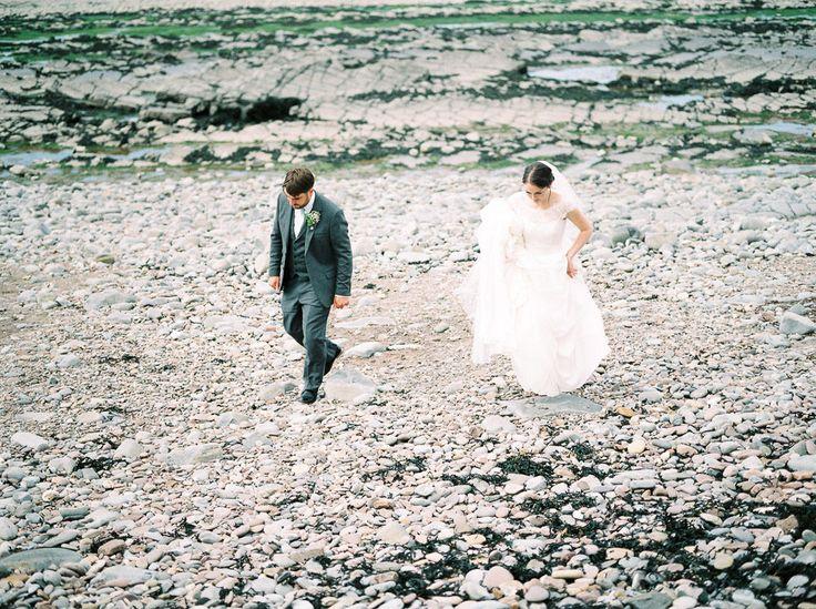 Sassi Holford Bride | Coastal Wedding Somerset | Mint Green Colour Scheme | Fine Art Photography by Imogen Xiana | http://www.rockmywedding.co.uk/lucy-joel/
