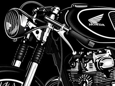 Honda Cafe Racer - David Cran