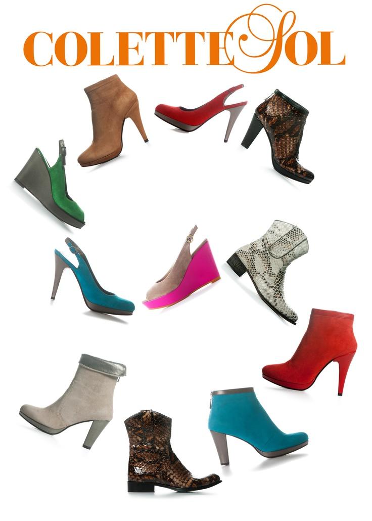 Colette Sol shoes summer collection 2012.