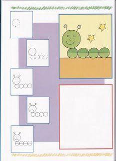 Hoe teken ik een rups / PEIXINHOS NO SOTÃO: Kids