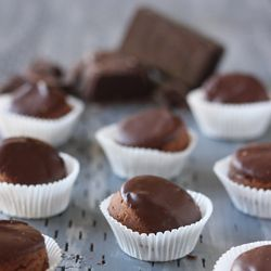 Chocolate-Dipped Financiers | Gluten free tea cakes made with almond ...