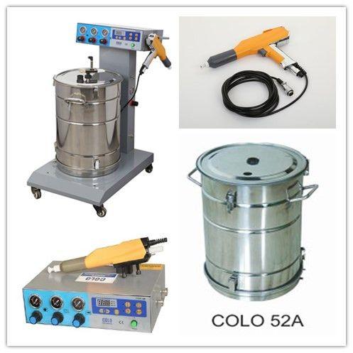 Powder coating machine pulse model, Powder coating Set - COLO powder coating machine