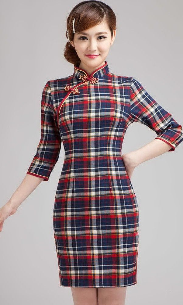 Shop 1930's chinese school uniform qipao dress. Find featured formal dresses for intellectual women from idreammart.com.