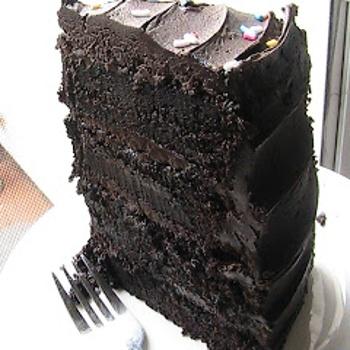 Hershey's Decadent Dark Chocolate Cake Recipe - ZipList