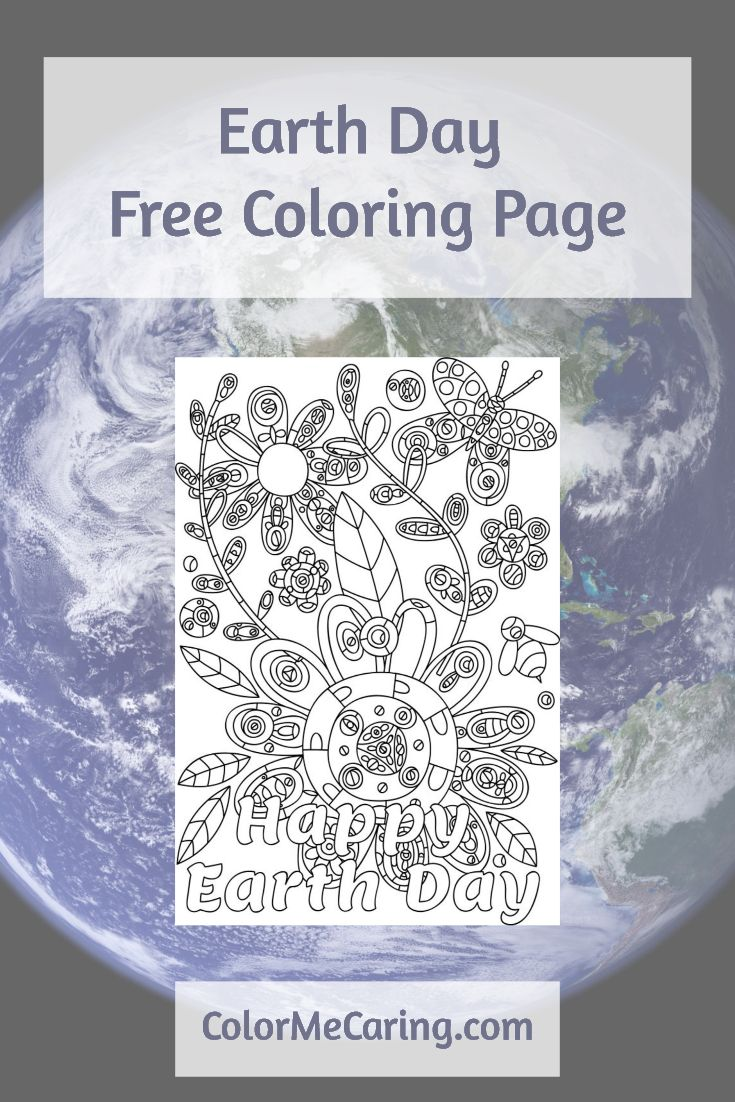 Earth day coloring pages for adults - Find This Pin And More On Free Coloring Pages For Adults Free Coloring Page To Celebrate Earth Day