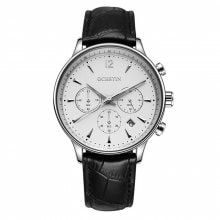 OCHSTIN GQ050A Top Brand Leather Multifunction Quartz-Watch Male