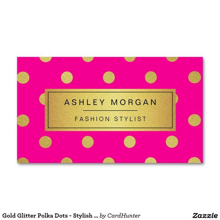 polka dots business cards - Gidiye.redformapolitica.co