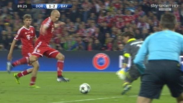 Bayern Monaco ha vinto la Champions League! 2-1, decide un gol di #Robben