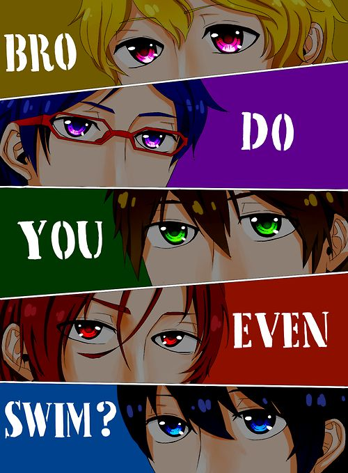 Anime: Free!