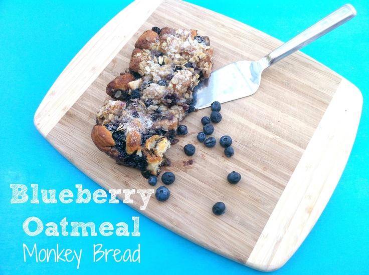 Joy's HopeOatmeal Monkeys, Joy Hope, Breads Recipe, Sweets Treats, Blueberries Oatmeal, Breakfast Food, 9 X 13 Monkeys Breads, Baking Grilled Cooking, Blueberries Monkeys