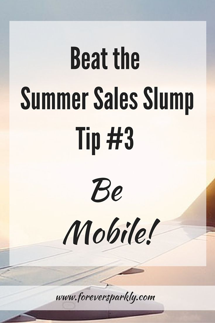 Summertime means fun and vacation but you may find your direct sales business slowing down! Direct Sales Tip #3 to help boost sales and customer retention is to bring your business with you! Click to see the full list of tips to beat the summer sales slump!