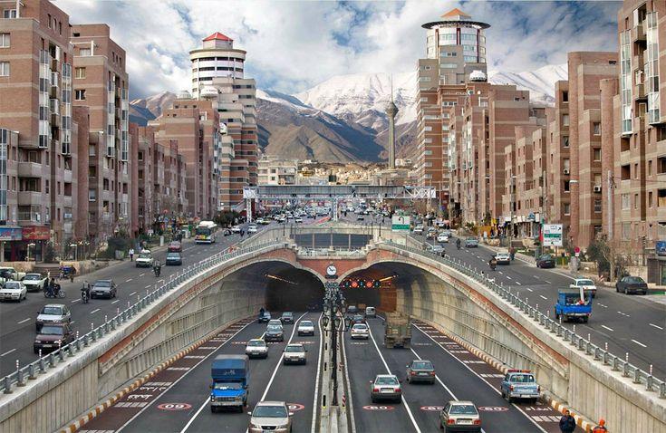 street level of tehran, iran  via http://onebigphoto.com/street-level-of-tehran-iran/