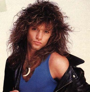 "I had this poster...and I used to stare at it while singing ""Living on a Prayer""...Jon Bon Jovi"