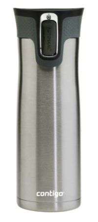 Amazon.com: Contigo AUTOSEAL West Loop Stainless Steel 20-Ounce Travel Mug with Easy-Clean Lid, Stainless Steel: Kitchen & Dining