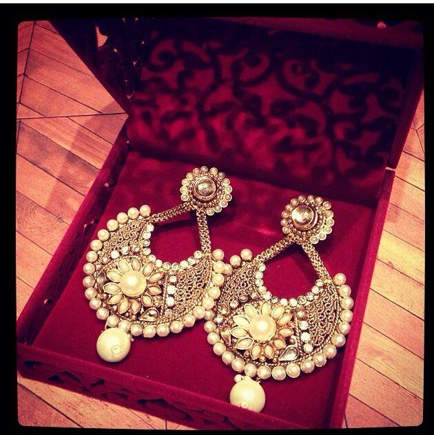 Ram leela movie inspired earrings.