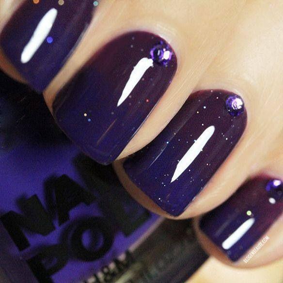 Nail Art Midnight Blue: Midnight Blue
