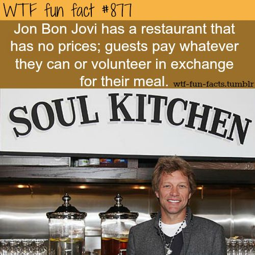 soul kitchen   MORE OF WTF-FUN-FACTS are coming HERE  funny and weird facts ONLY