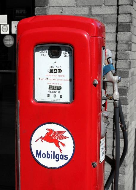 Vintage Gas Pump, Quincy, MA by jores59, via Flickr