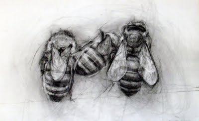 three bees .April Coppini
