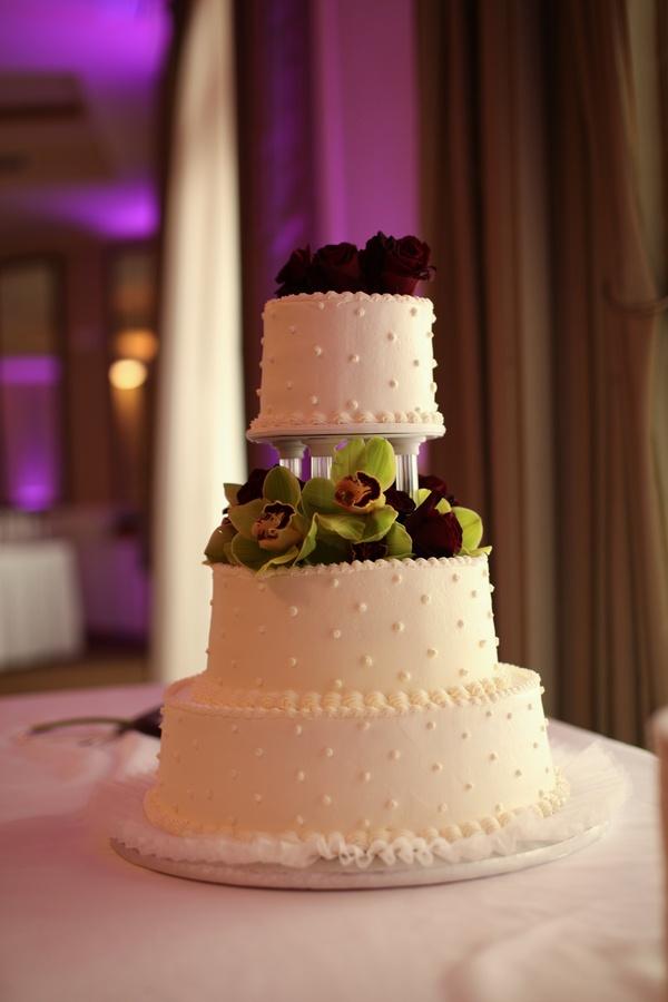 three tier #publix #wedding #cake