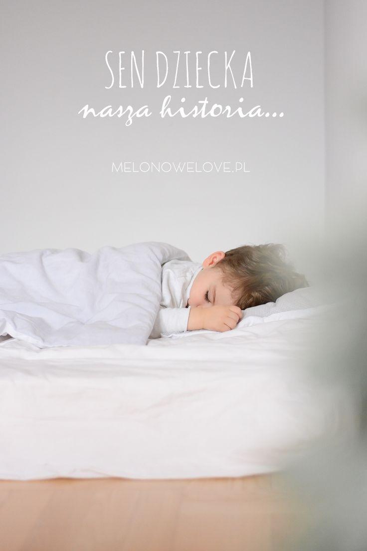 sen dziecka, jak dziecko śpi