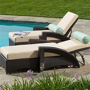 Outdoor chaise lounge chairs costco woodworking projects for Ava chaise lounge costco
