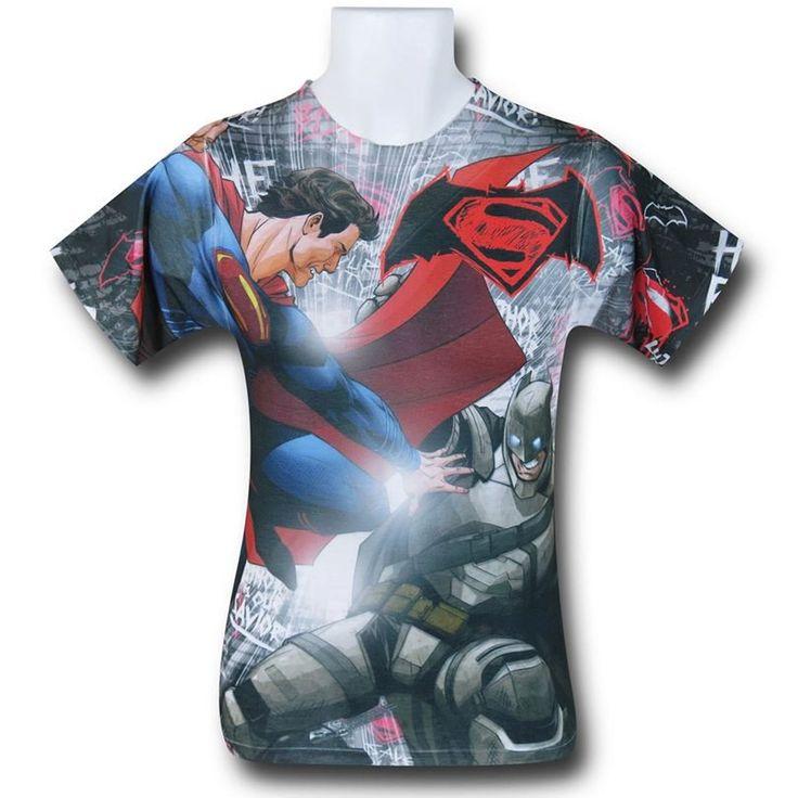 Batman Vs Superman Showdown T-Shirt