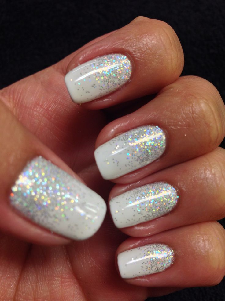 Glitter Nails: 1000+ Ideas About Glitter Gel Nails On Pinterest