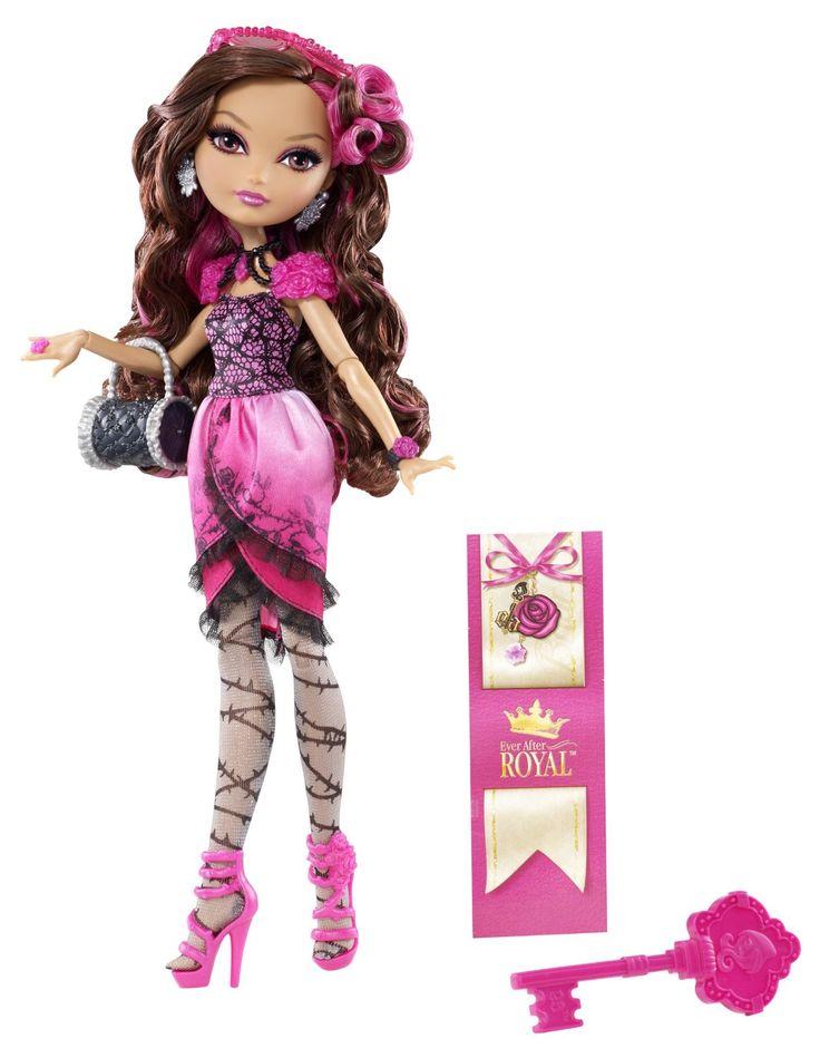 De nouvelles poupées mannequins font leur apparition cette année : Ever After High.