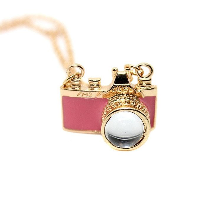Vintage Style Camera Necklace