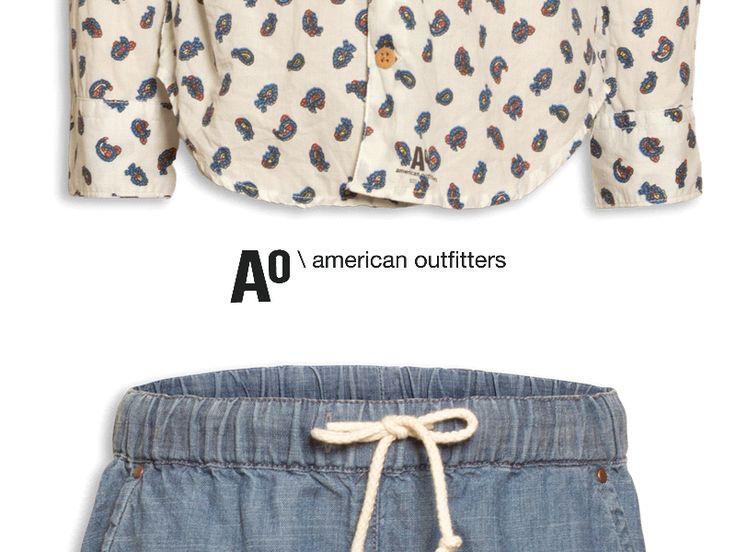 Tre sorelle, sei mani, una passione. Questo lo slogan di American Outfitters, giovane azienda americana che veste donne e ragazzi. Combinazioni audaci di colori e stampe originali, realizzate in tessuti naturali rendono questo marchio perfetto per la nostra vetrina!