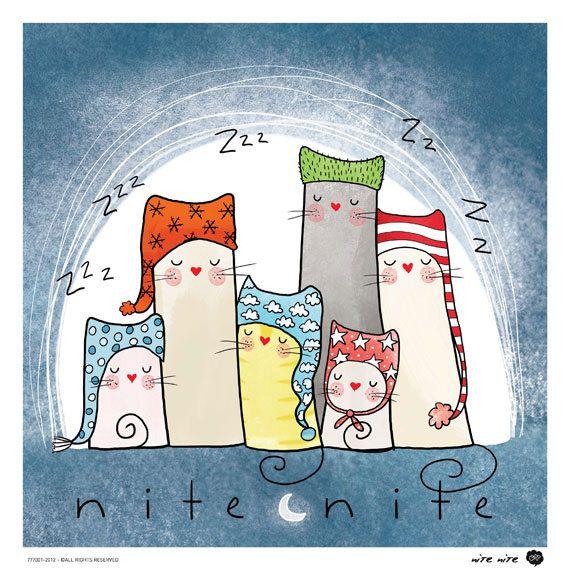 Nite Nite by OipsStore