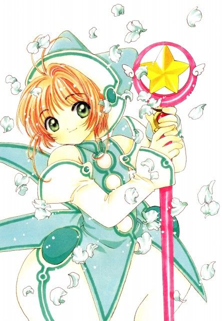CLAMP, Madhouse, Cardcaptor Sakura, Cardcaptor Sakura Illustrations Collection 3, Sakura Kinomoto