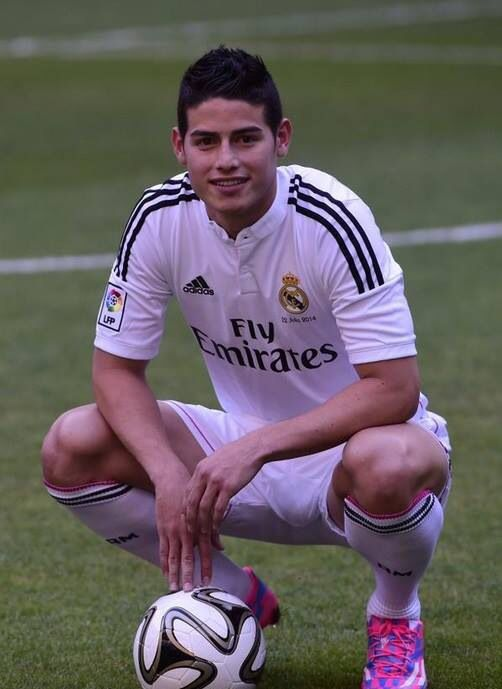 James Ridriguez Real Madrid