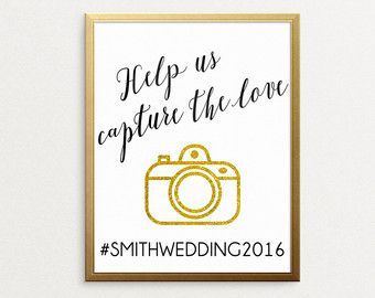 Hashtag Printable Download for your engagement or wedding! http://www.theweddinggoodies.etsy.com