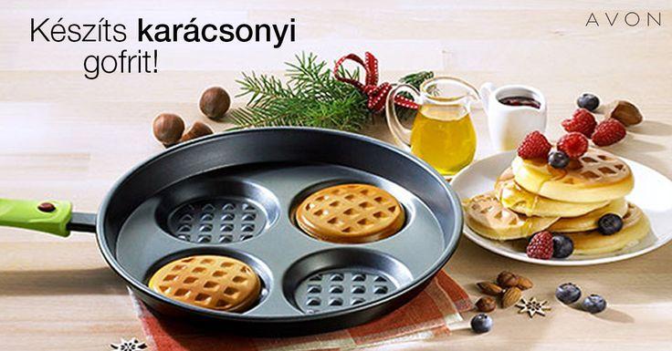 Készíts karácsonyi gofrit ebben a szuper serpenyőben