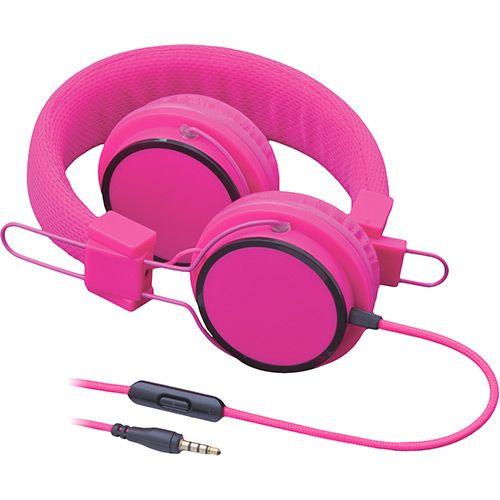 Fone de Ouvido Multilaser Fun PH88 Supra Auricular Rosa com Microfone para Celular