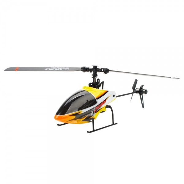 SH 6051 4 Channel 2.4GHz Flybarless Remote Control RC Helicopter with Gyro RTF Black&Yellow